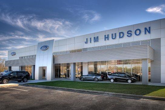 Jim Hudson Ford Showroom Exterior