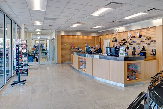 Jim Hudson Ford Service and Parts Interior